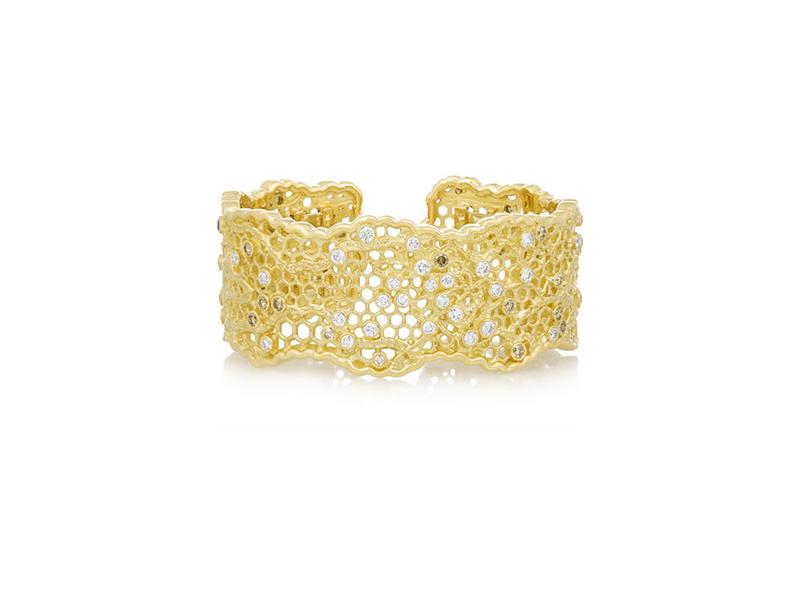 Aurelie Bidermann Lace 18 karat gold diamond 39726€