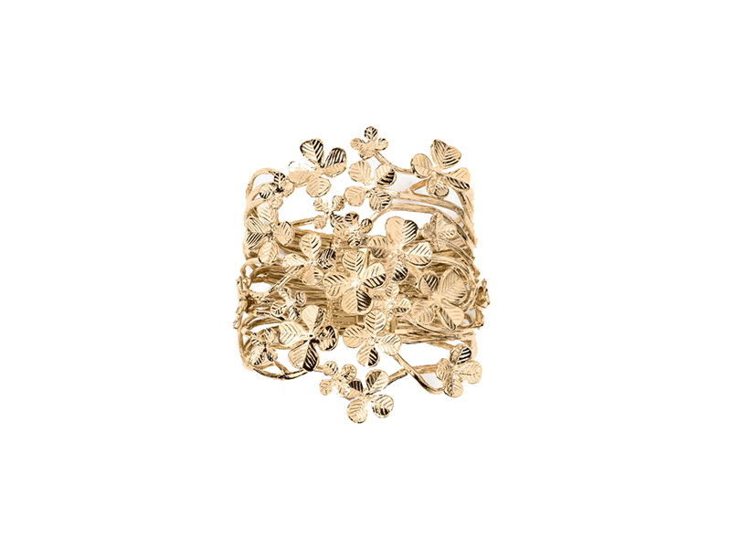 Aurelie Bidermann Tamar cuff yellow gold 650 €