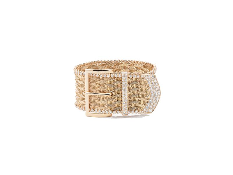Aurelie Bidermann Manchette ceinture mounted on yellow gold with 220 diamonds - 49990 €