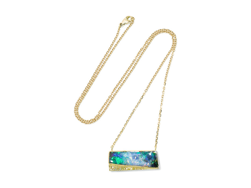 Brooke Gregson 18 karat gold opal and diamond 8736 €