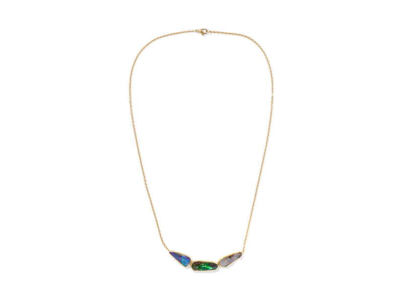 Brooke Gregson Ellipse collection 18 karat gold opal 3051
