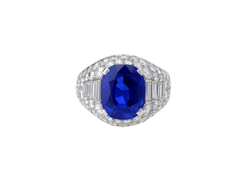 Bulgari Burma Sapphire Trombino Ring