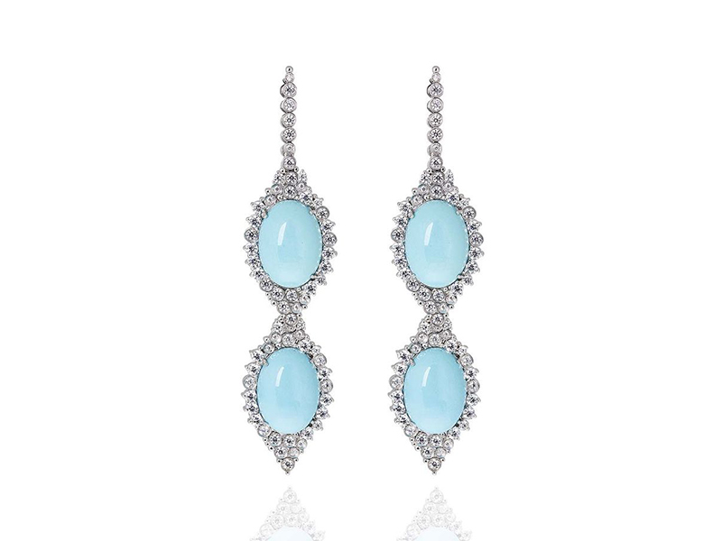 Carla Amorim Sleeping Beauty earrings