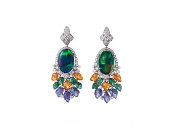 Best opal earrings selection !