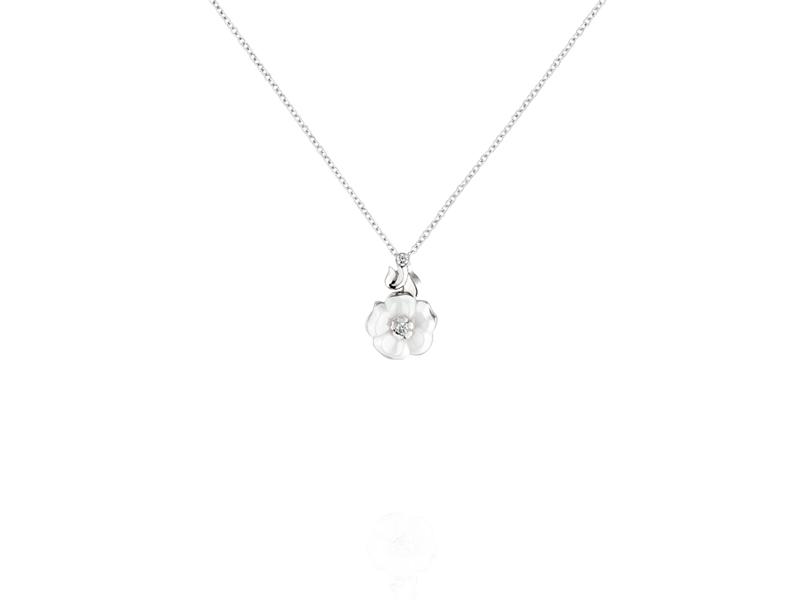 Chanel Camelia pendant