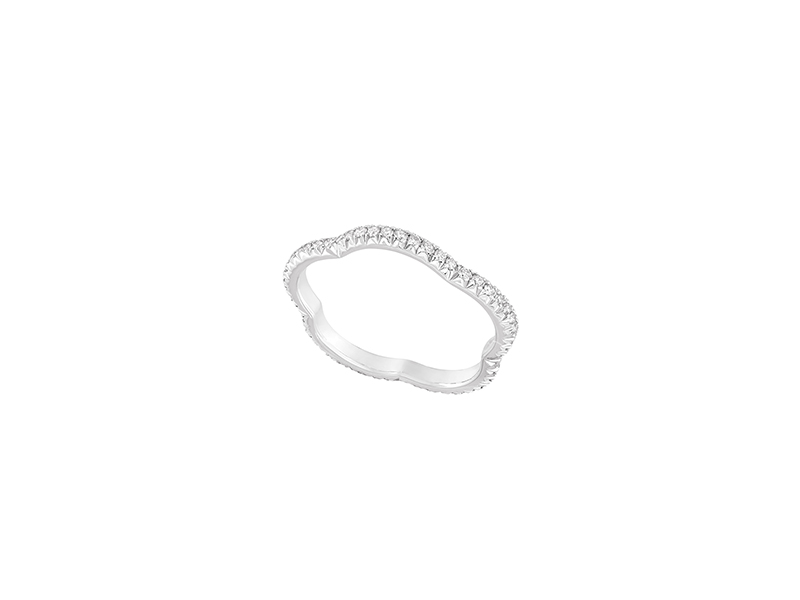 Chanel Camelia wedding band