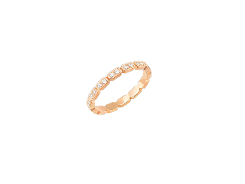 Chanel Première ring in 18k pink gold and diamonds