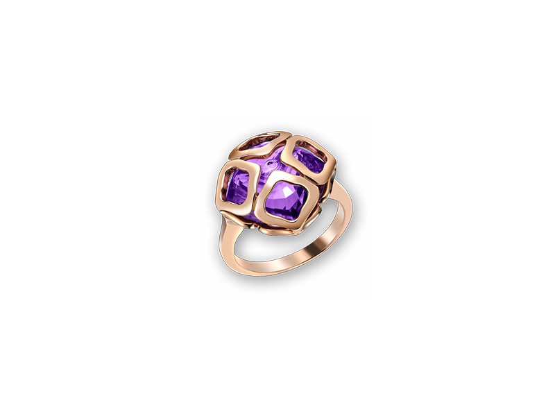 Chopard Ring, Imperiale with Amethyst