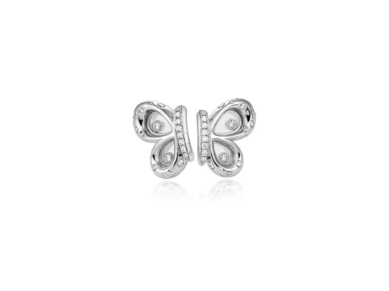 Chopard Happy diamonds butterflies earrings
