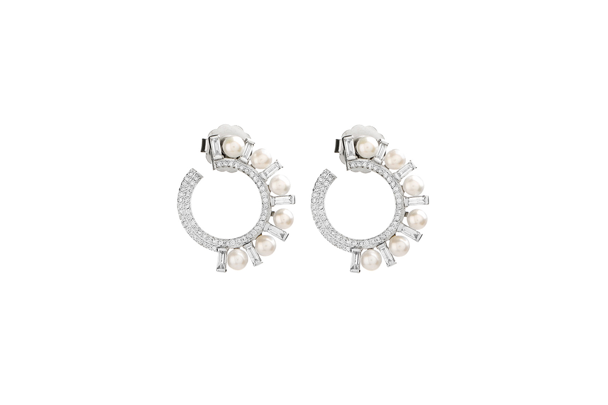 Earrings Brands Nymph Pearl Jewelry Set Real 18k Gold