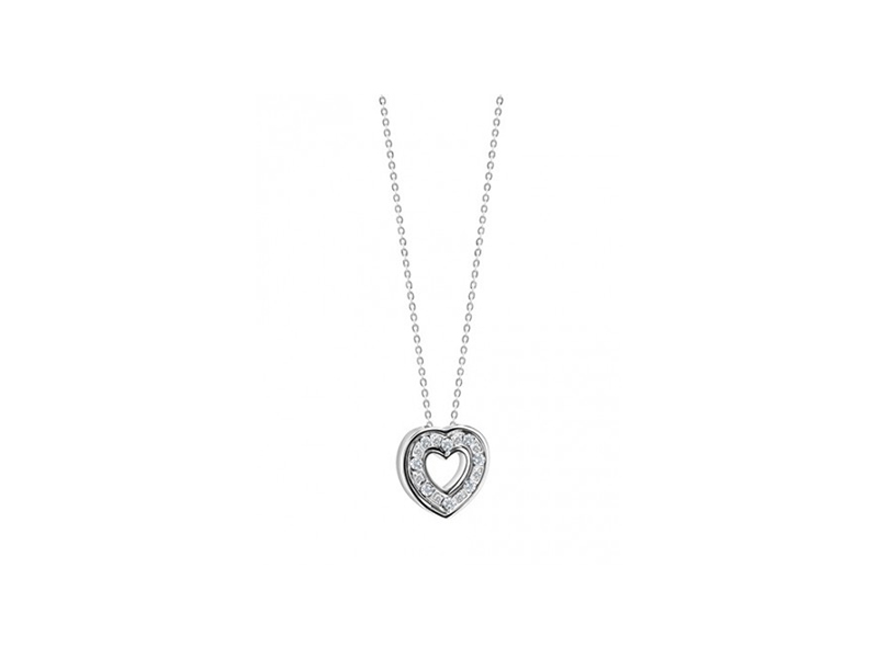 Damiani Belle Epoque Heart Necklace 2300 €