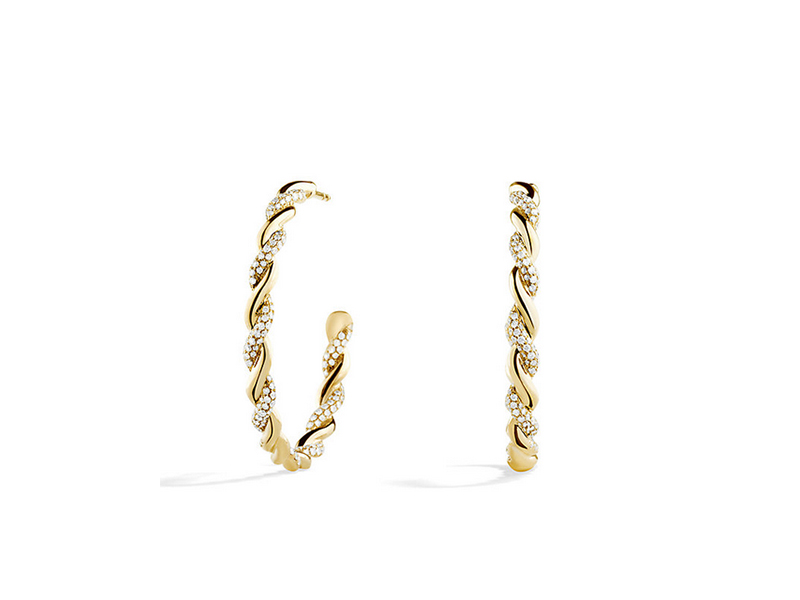 David Yurman Wisteria Hoop Earrings 7500 €