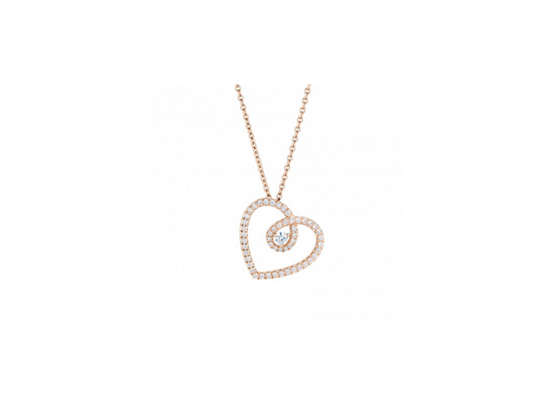 De Beers Diamond Heart Pendant 1975 €