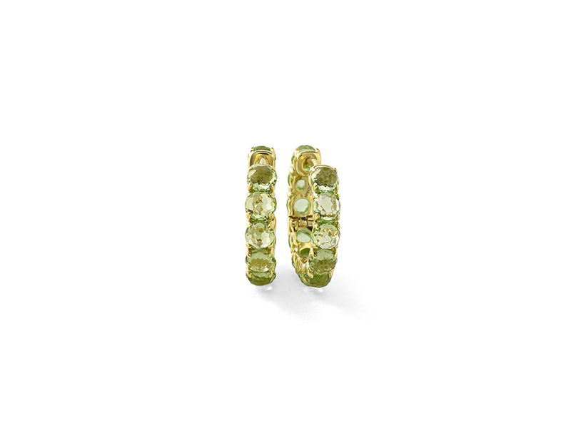 Ippolita Lollipop collection yellow gold with peridot 2995 $