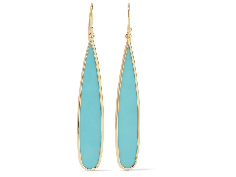 Ippolita Rock candy gold turquoise earrings 965 €