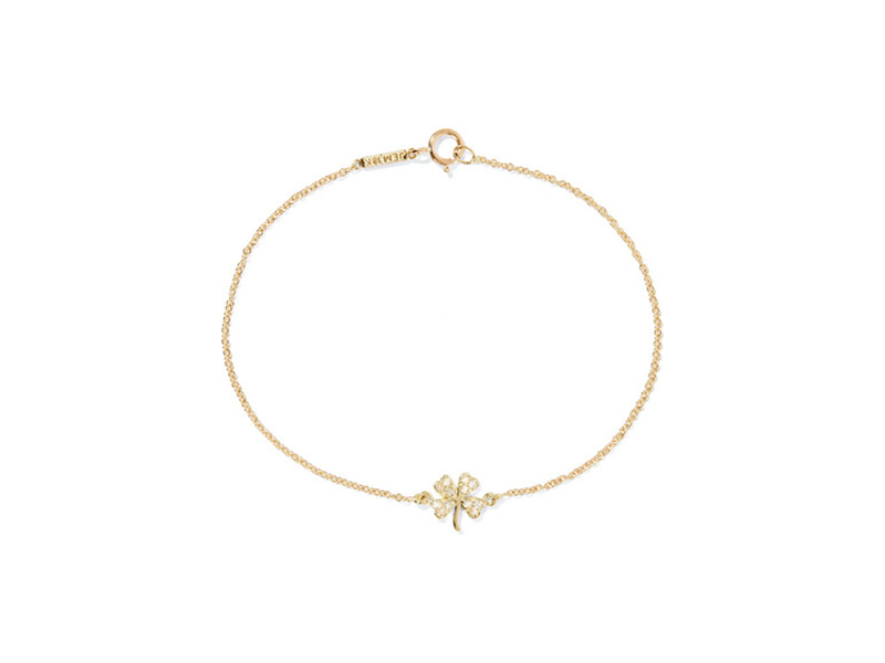 Jennifer Meyer 18 karat gold diamond bracelet - 693 €