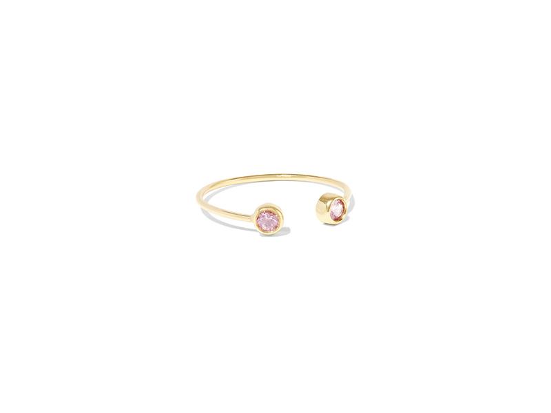 Jennifer Meyer 18 karat gold sapphire ring 1294€