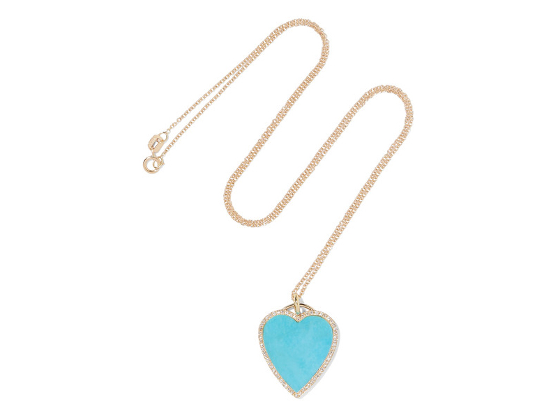 Jennifer Meyer Gold with turquoise and diamond 3'783 €