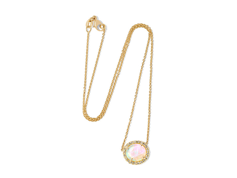 Kimberly McDonald 18 karat gold opal and diamonds 7315 €