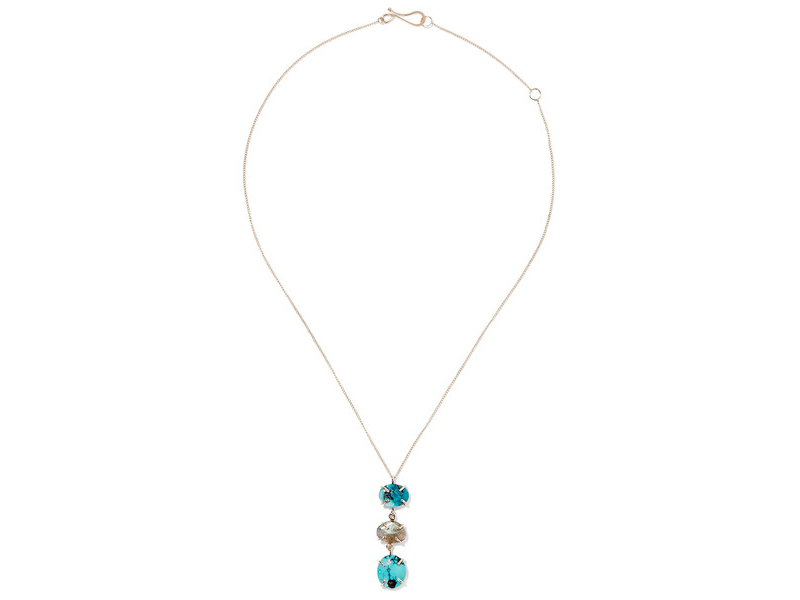 Melissa Joy Manning Gold with turquoise and laborite 1'046 €