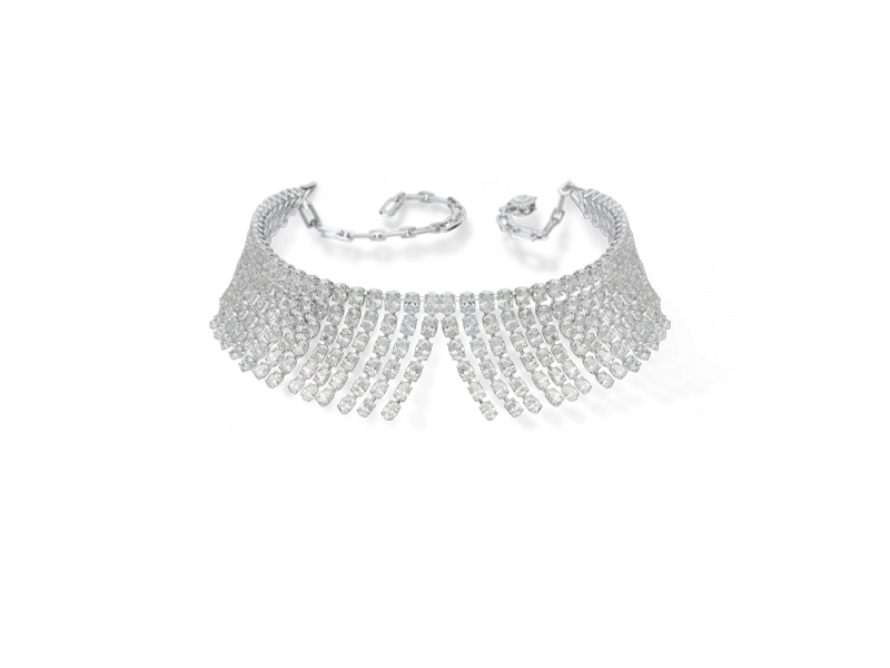 Messika Miss Monroe collection choker mounted on white gold and diamonds