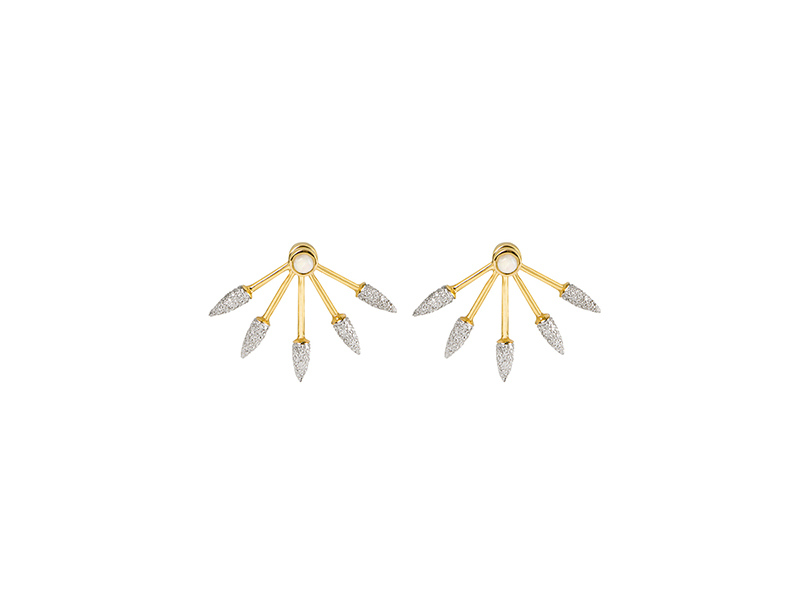 Pamela Love Five Spike Earrings 6200 €