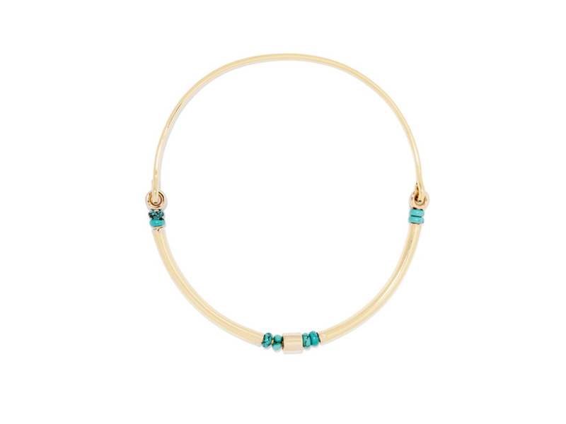 Pamela Love Rivera gold-plated turquoise choker 382 €