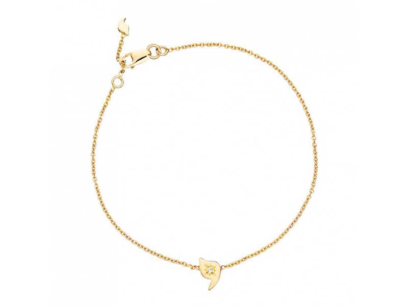 Rivka Nahmias Baby talisman mounted on yellow gold - 548 €
