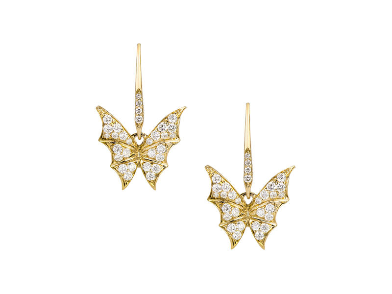 Stephen Webster Pave small earrings fly by night