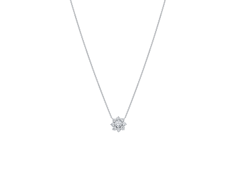 Harry Winston Sunflower Large Diamond Pendant