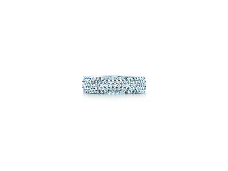 Tiffany & Co metro five row ring