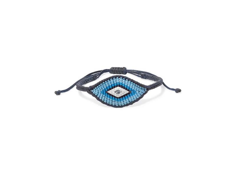 Diane Kordas Evil eye women diamond and sapphire bracelet - 1'340 €