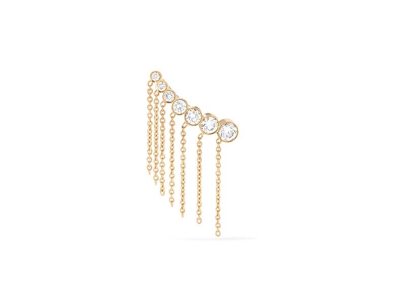 Sophie Brille Brahe Gold diamond ear cuff - 1869 €ff