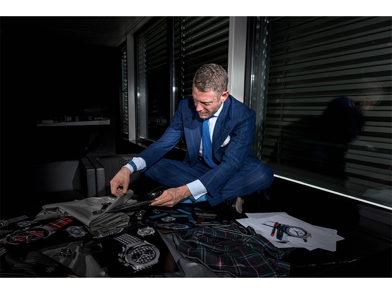 Lapo Elkann workshop