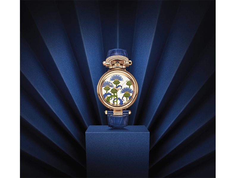 Bovet Amadeo Fleurier 39 Blue Burdocks