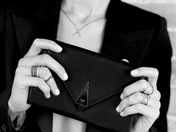 Fine jewelry designer Eva Fehren teams up with TUMI to imagine the best jewelry travel accessory set