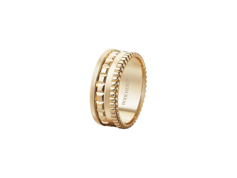 Boucheron Quatre radiant edition small ring yellow gold