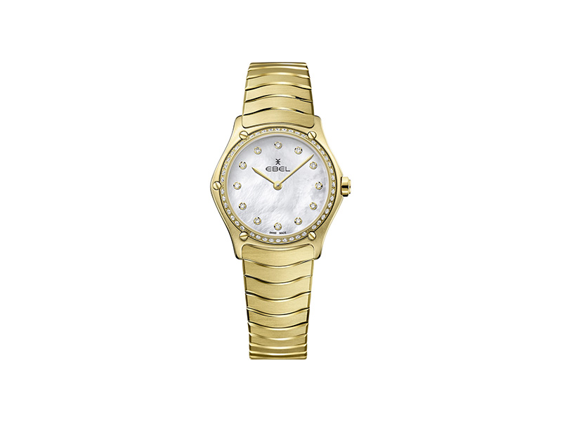 Ebel Sport Classic Lady with diamonds