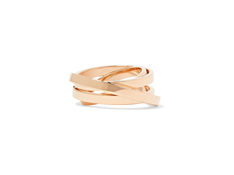 Repossi Berbere ring mounted on rose gold
