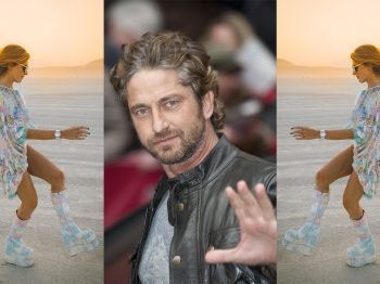 The day Gerard Butler served me chicken skewers I was wearing a Corum…