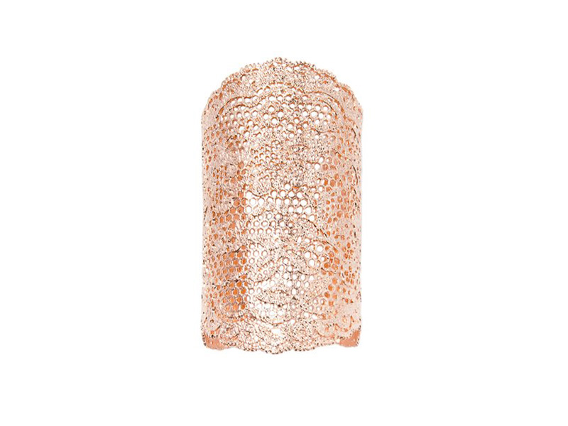 Aurélie Bidermann Vintage lace cuff dipped in 18k rose gold