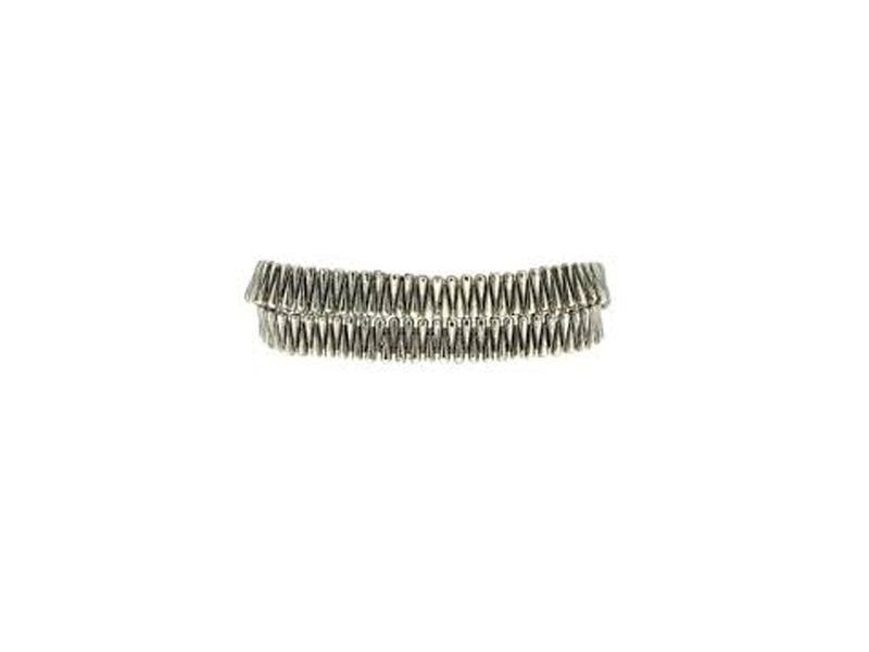 M Cohen Double Tours silver bracelet