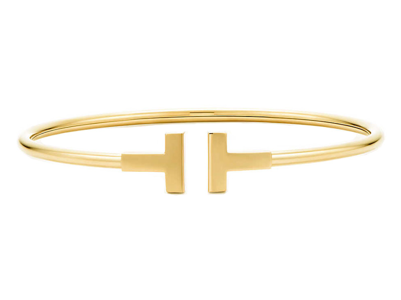 Tiffany & Co Wire Bracelet mounted on 18k yellow gold