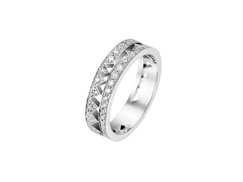 akillis wedding ring white gold diamonds