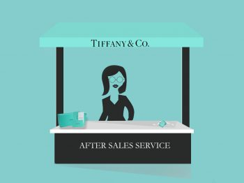 After sales services at Tiffany: will they clean your jewelry for free…