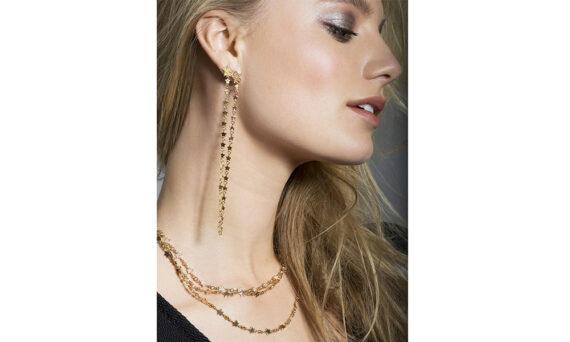 Spallanzani Jewelry Boucles d'oreilles pendantes Stella