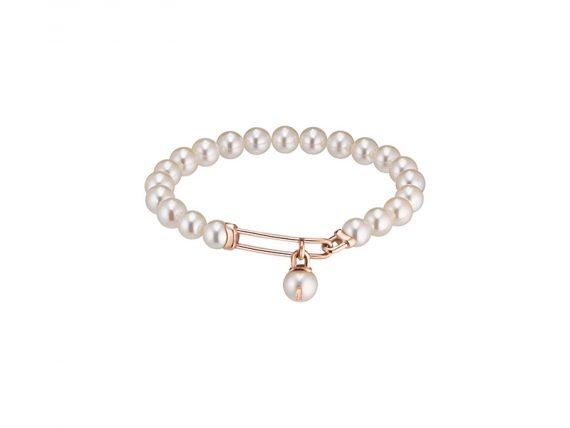 Worms U Lock Me full japanese pearls bracelet