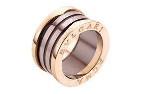 Bvlgari B.Zero 1 roma ring rose gold