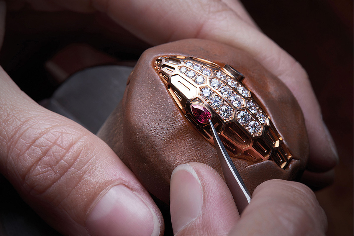 Bvlgari serpenti craftsmanship