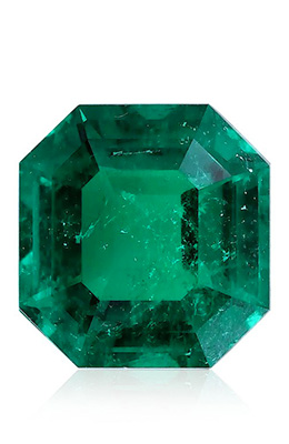 Colombian Emerald Emerald Shape Gubelin